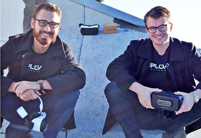 UploadVR cofounders Taylor Freeman and Will Mason