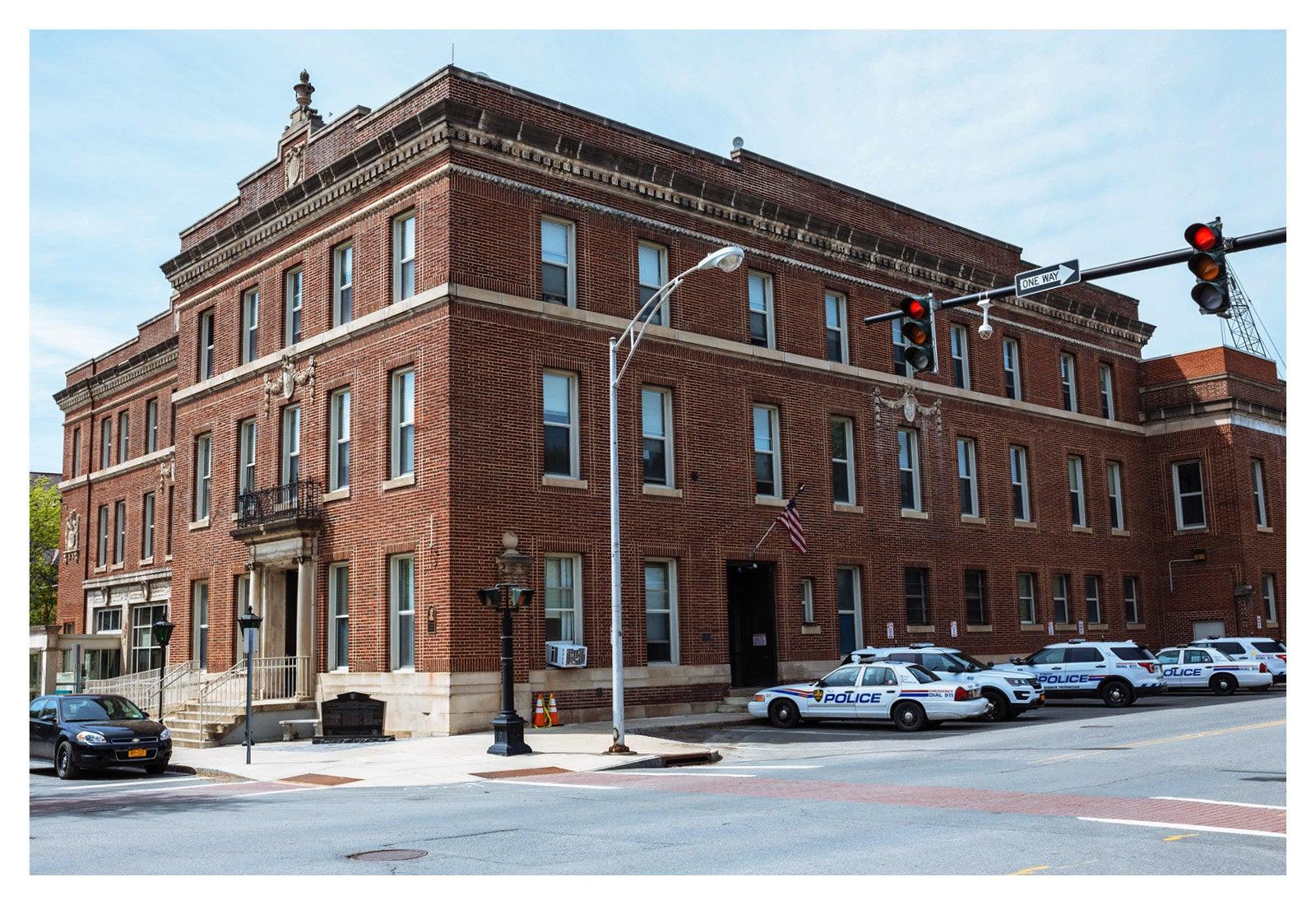 Troy police station