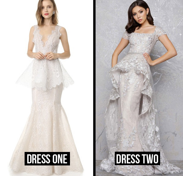 Which Wedding Dress Is More Expensive