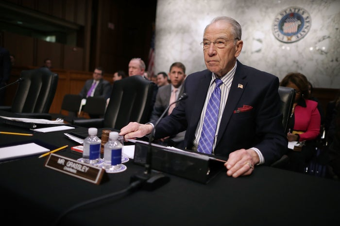 Sen. Chuck Grassley, chair of the Senate Judiciary Committee