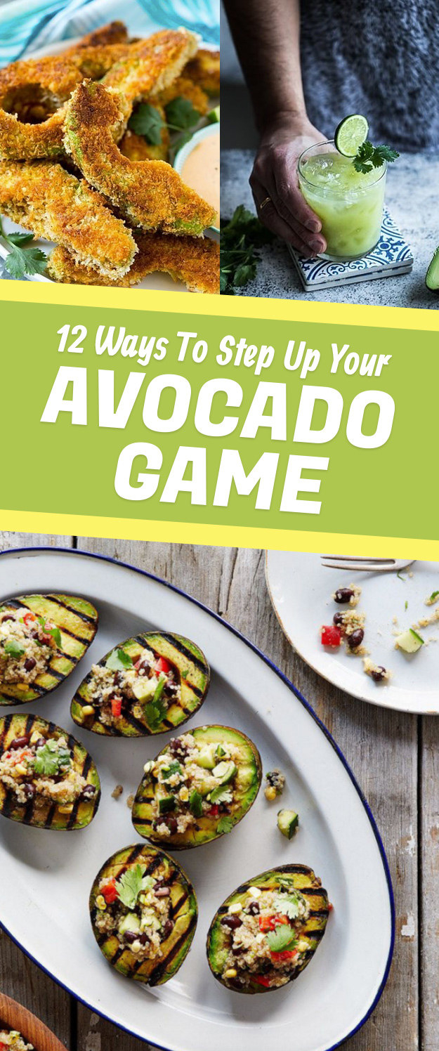 5 Totally Unexpected Ways To Eat Avocado