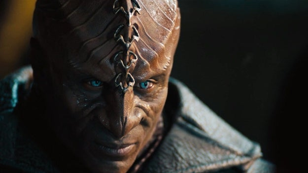 And the Discovery Klingons don't look quite as intense as the Klingons from 2013's Star Trek Into Darkness.
