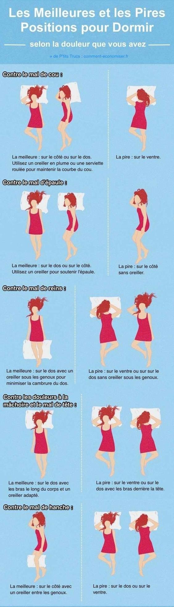 comment dormir pour eviter les rides