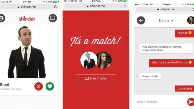 Online dating swapping nummers