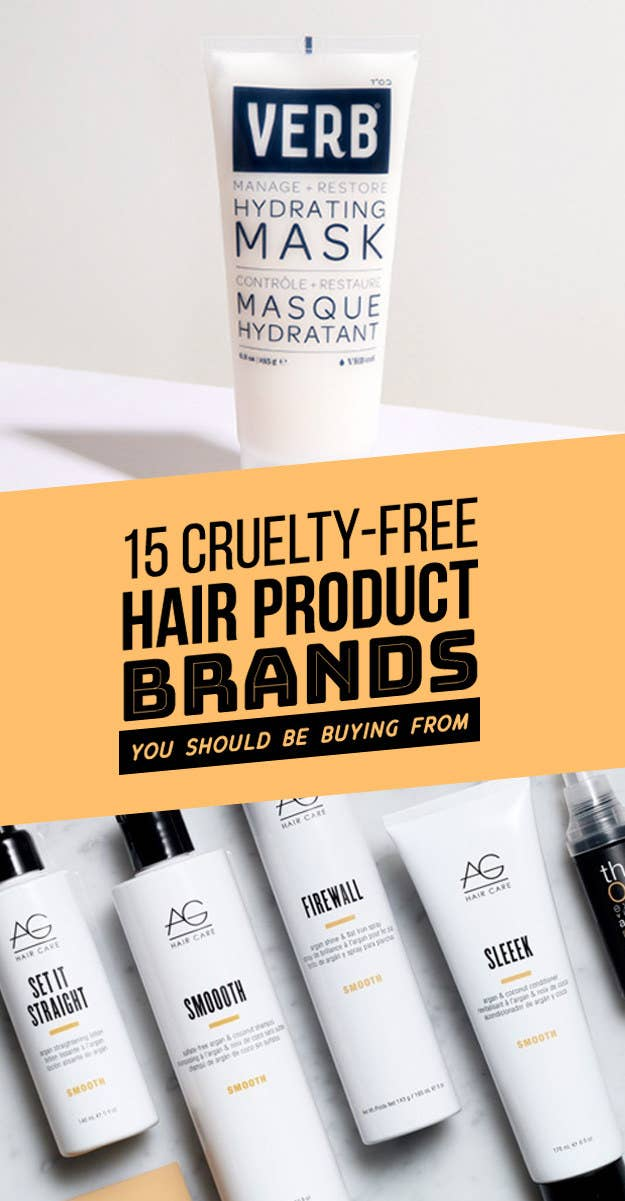 15 Cruelty Free Hair Product Brands Youll Wish You Knew About Sooner