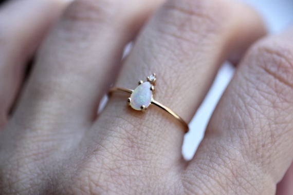 Get it from LieselLove on Etsy for $226 (available yellow, rose, and white gold, and in sizes 3-9 3/4).