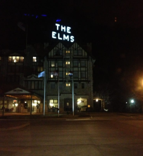 'A fun thing The Elms offers is a ghost tour. The hotel is supposed to be haunted, and the tour guide has plenty of stories to back that up! He takes you to every floor (even the secret fifth floor!) and tells stories. We even discovered that our room was one of the 'haunted' ones! It's a fun, free thing the hotel offers, so don't miss it!' —Yelper Jacquelyn B.
