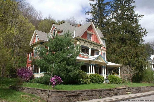 This is 1077 Main Street, a gorgeous house for sale in Fleischmanns, NY.