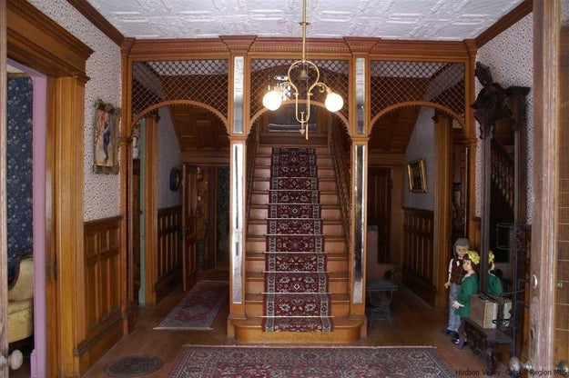 For $349,000 this 11-bedroom, 7-bathroom Victorian mansion — built in 1900 — could be yours. Which is cool. But...guys, can we TALK ABOUT THE DOLL SITUATION?