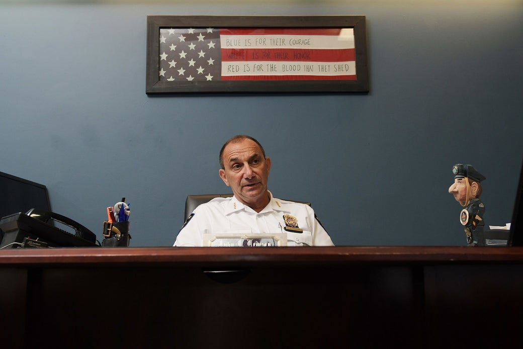 Troy Police Chief John Tedesco in 2016