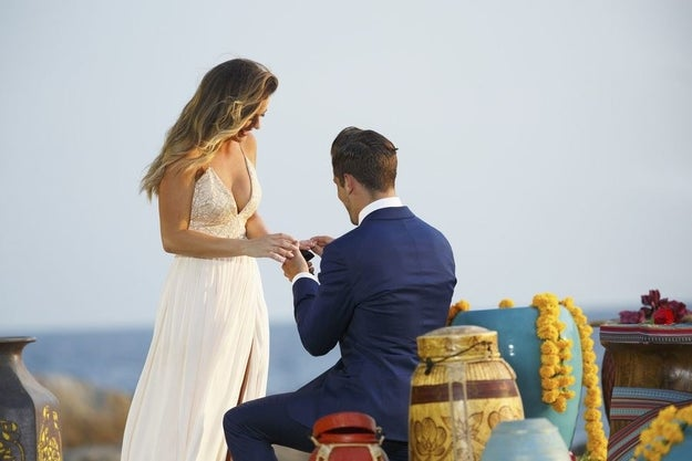 Remember back in the day when you had to wait until the end of the season to find out if there was a proposal at the end of The Bachelorette?