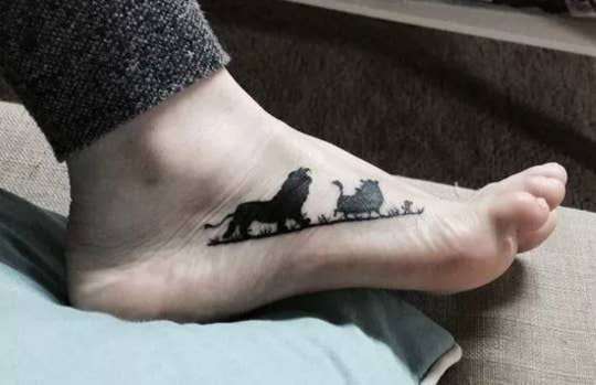 33 Beautiful Tattoos That Were Inspired By Movies