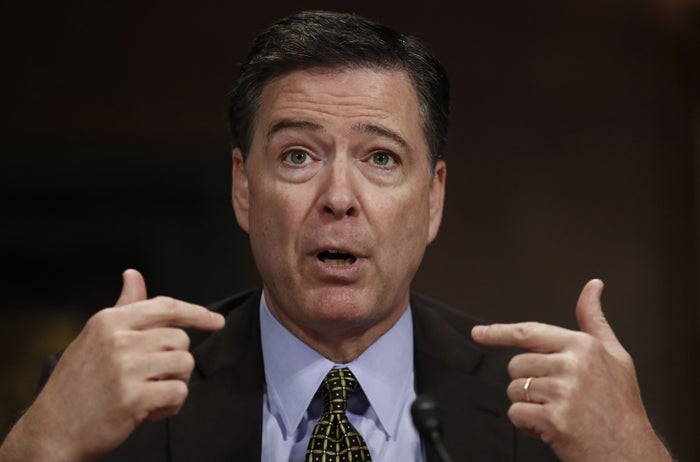 James Comey in Washington, DC, on May 3.