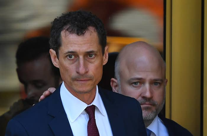Weiner leaves federal court on Friday.
