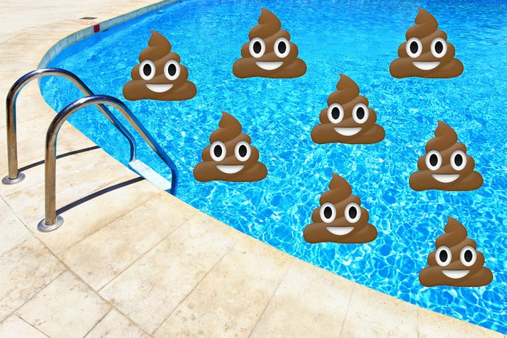 The survey, conducted by the Water Quality and Health Council, found the following:* 1 in 4 adults (25%) would swim within one hour of having diarrhea.* Half of adults (52%) seldom or never shower before swimming in a pool.* 3 in 5 adults (60%) admit to swallowing pool water while swimming.Before we get into these findings, let's quickly talk about pool germs. When you get in a pool, everything on your body —sweat, dirt, oil, bodily fluids — ends up in the water, like a big bathtub. So yes, most pools are full of germs,and for the most part it's not a big deal. We don't live in a sterile world and most germs are harmless. Plus, we have chemicals like chlorine to keep pools clean. However, there are bad germs that you do not want in a pool —these are pathogens, orany bacteria, virus, or other organism that causes infection or disease. These can get in the pool from our bodies or fecal matter and infect other swimmers, leading to outbreaks of waterborne diseases.