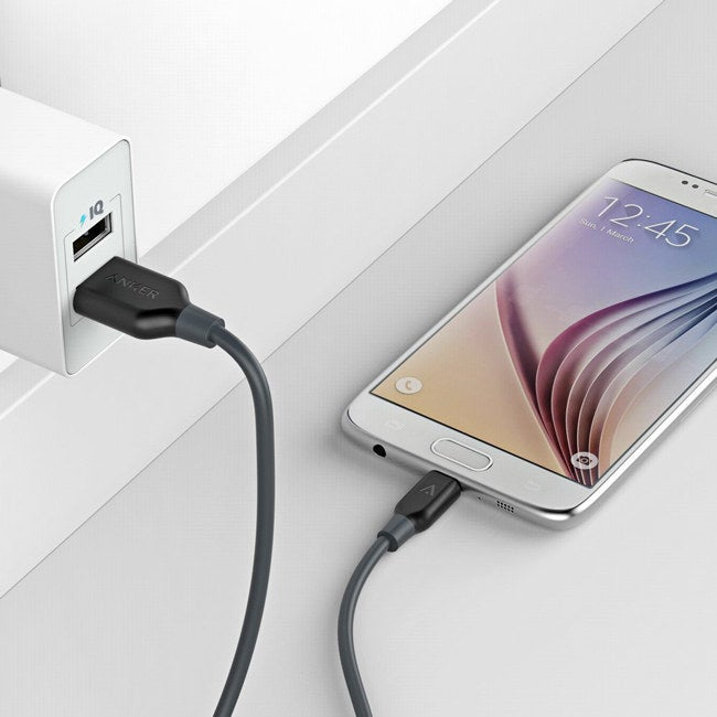 """Promising Review: """"I eat through Apple lightning chargers like candy. There are so many bad ones on the market that I am extremely relieved to have found one that is reliable. A cable will typically last me like three or four months. However, I've had this cable for more than eight months now, and it is still going. I travel a lot, so my cables are tossed around hotel rooms and shoved into my bag a million times a week. So for it to still be kicking is a great testament to its quality!"""" —Will Get them from Amazon: Lightning cable for $12.99 (available in three colors) and micro USB cable for $6.99 (available in five colors)."""