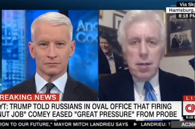 "Anderson Cooper Just Told A Contributor He'd Defend Trump Even If He Took ""A Dump On His Desk"""
