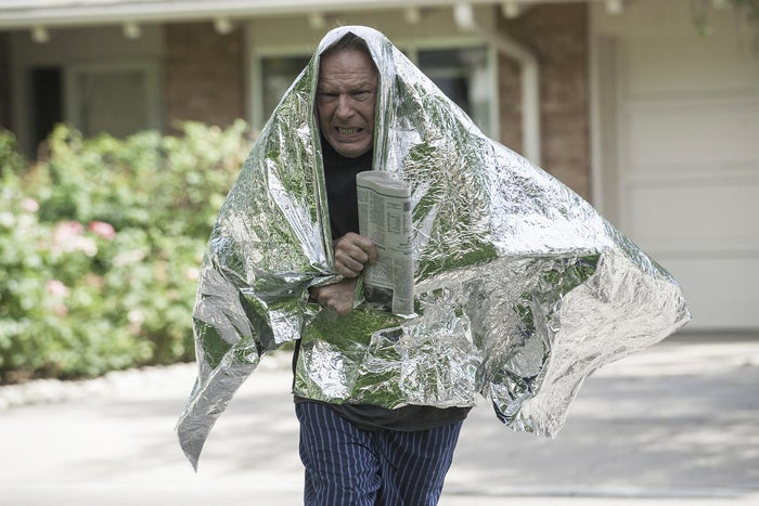 Michael McKean as the electrosensitivity-suffering Chuck McGill in Better Call Saul
