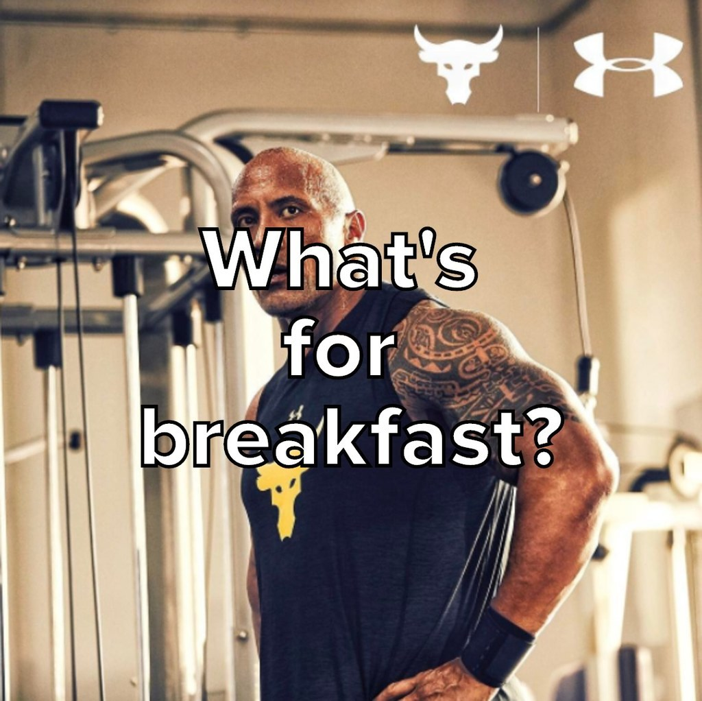 Could You Eat Like The Rock Or Nah