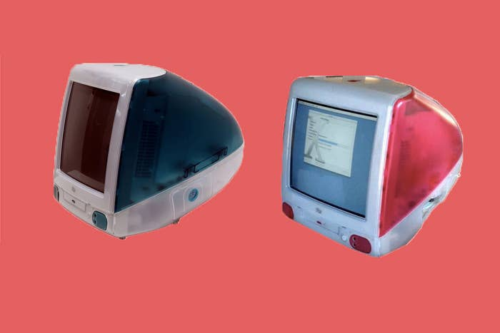 They had different colored backs and appeared in school computer labs across the globe.