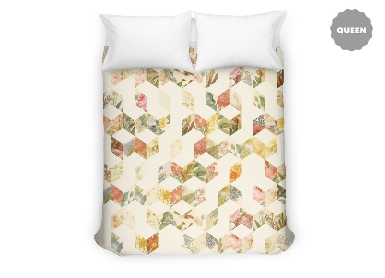 Hummingbird Bed Linen Part - 33: 18. An Artsy Duvet Cover With An Easy And Convenient Zipper Closure.