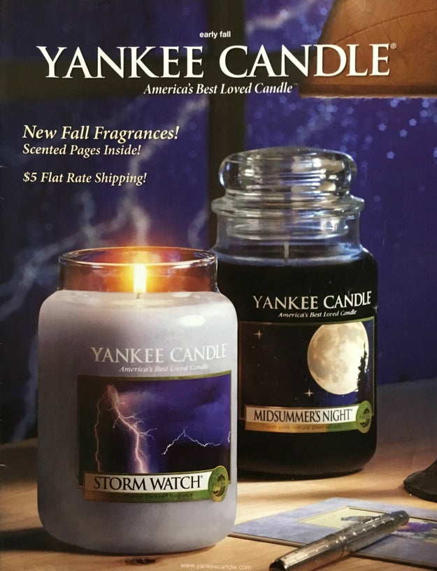 They introduced an unscented candle at one point...and it didn't exactly catch on.