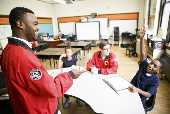 City Year AmeriCorps members partner with high-need schools in 28 communities across the country, providing extra support to help students stay in school and on track to graduate from high school, ready for college and career success.
