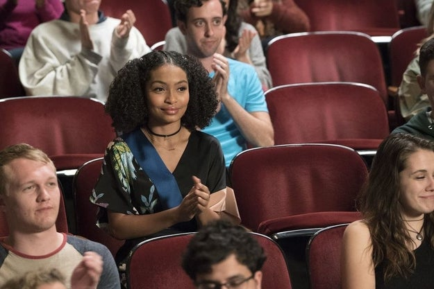 After months of excitement, this week, Black-ish is finally airing the backdoor pilot for its possible spinoff, centering on the eldest Johnson child, Zoey (Yara Shahidi).