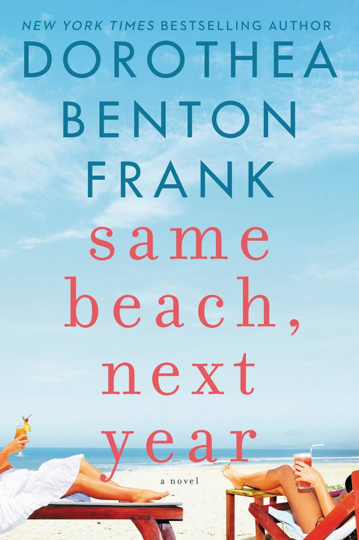 Two couples meet by chance on one of Charleston's most charming islands, and from that point on their lives are connected by annual beach escapes, friendship and touch of forbidden emotions. This is the beach read you'll breeze through in one afternoon.