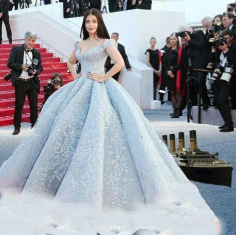 Aishwarya Rai Bachchan\'s Gigantic Cannes Dress Has Turned Into A ...