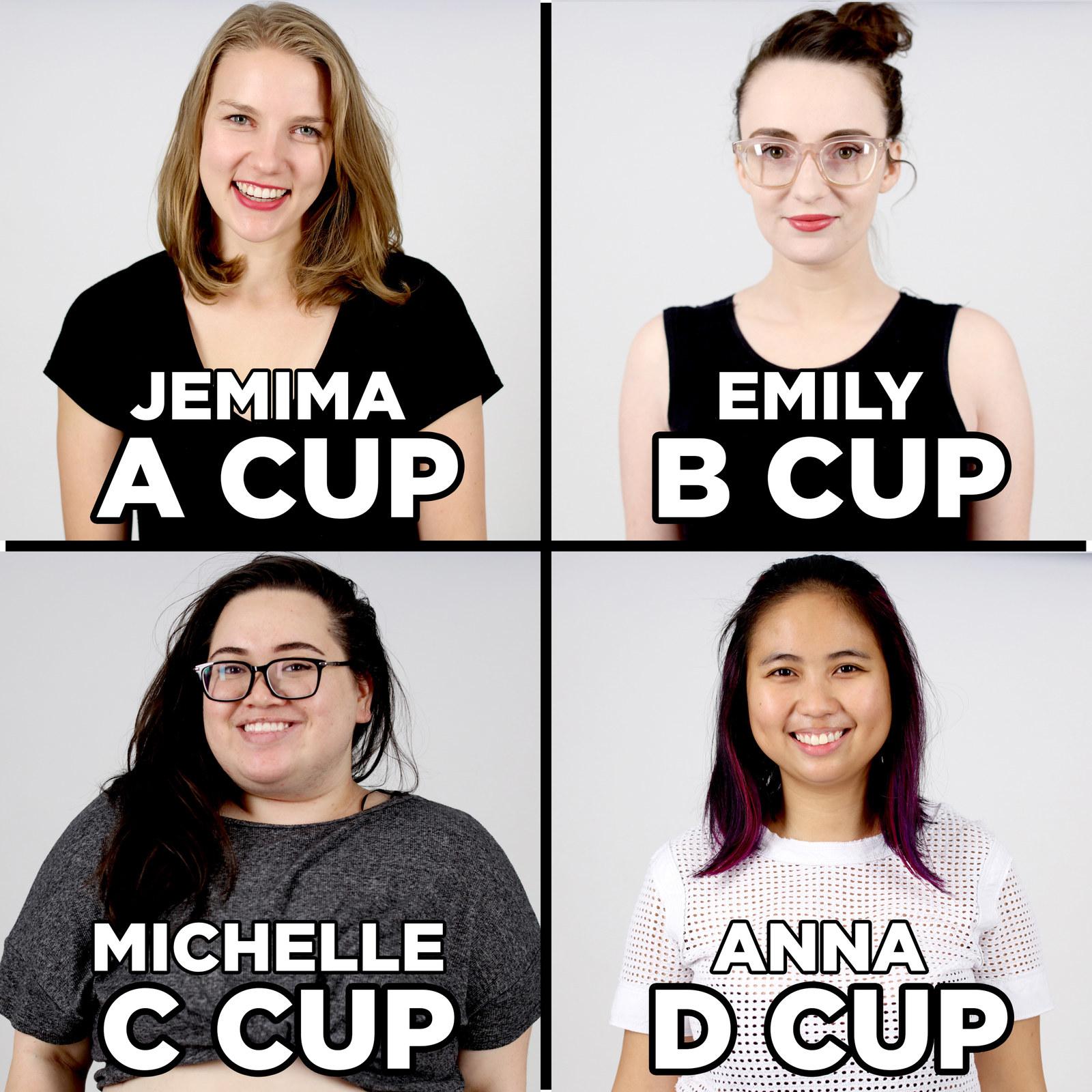 Bra cup too big