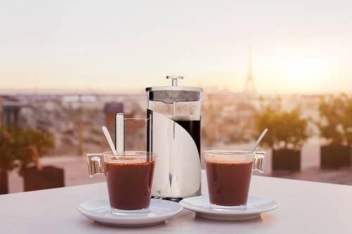 prensadora de cafe
