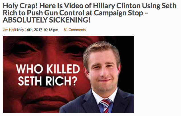 A typical Gateway Pundit headline.