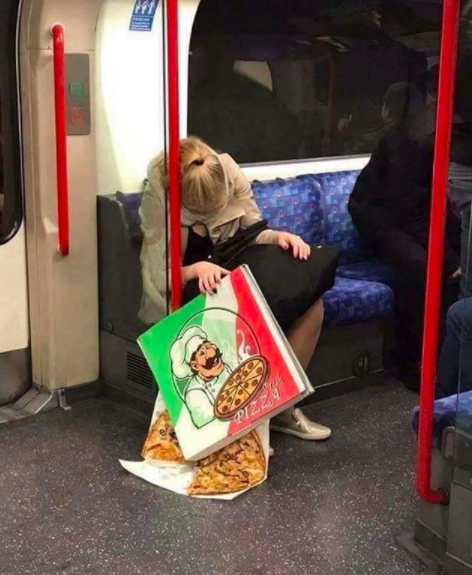 You should always protect your pizza.