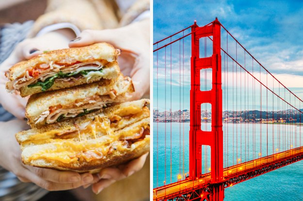 Order A Grilled Cheese To Discover What City You Should Live In