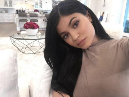 We Are Gathered Here Today To Discuss Whether Or Not Ager With Lips Kylie Jenner Knows How Sit In A Chair