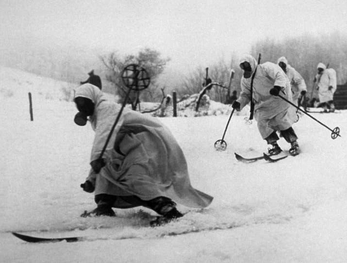 Tropas finlandesas (1940).