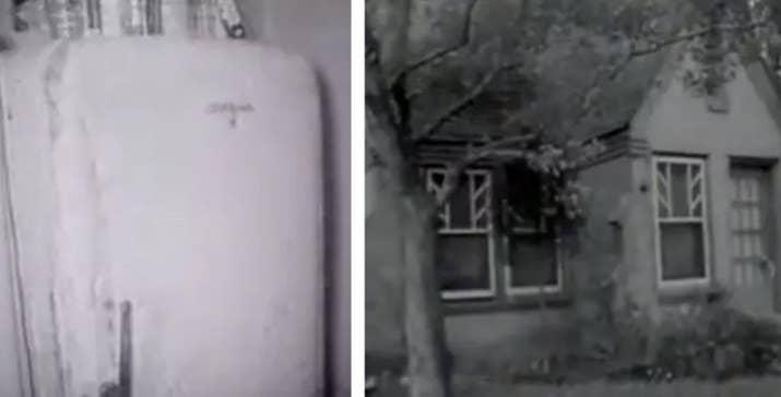 En 1965 las partes corporales de Fred y Edwina Rogers fueron halladas dentro de un refrigerador, cuidadosamente envueltos en los estantes. La policía cree que fue su hijo, Charles, quien cometió los crímenes. No se le ha visto desde el suceso.—Celia Scheer, Facebook