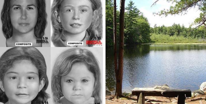 Los cuerpos descompuestos y golpeados de cuatro víctimas de asesinato sin identificar fueron hallados en bolsas de basura en 1956 y 2011. Los hechos se produjeron en el Parque estatal Brook, en Nuevo Hampshire. En la actualidad, la policía sigue sin conocer los nombres de las víctimas ni la persona que las asesinó.—hassenmiranda y Alexandria Chanel Peckumn, Facebook