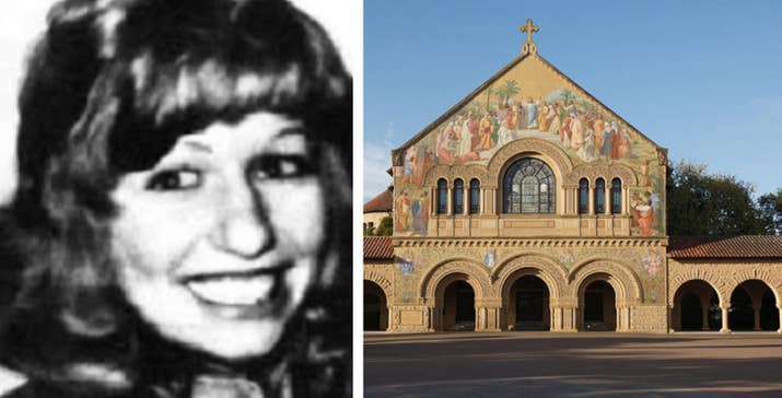 Perry estudiaba en Stanford cuando una noche de octubre de 1974 tuvo una pequeña riña con su marido. A la mañana siguiente, fue hallada en una iglesia. Su cuerpo yacía junto al altar con un picahielo en la cabeza, parcialmente desnuda y habían abusado sexualmente de ella con un candelero. Su marido y el guardia de seguridad que la encontró fueron declarados inocentes.—daniels137