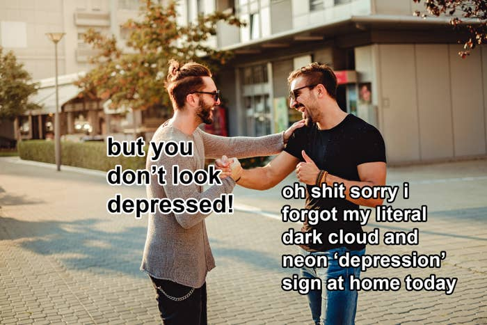 how to tell someone youre depressed