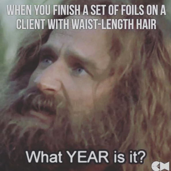 flirting meme with bread mix vs dry hair