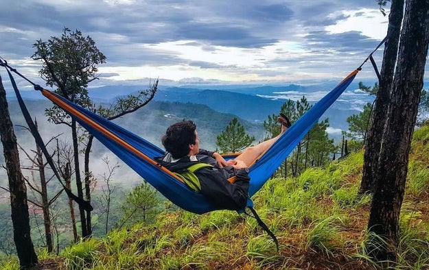 ...or try hammock camping instead.