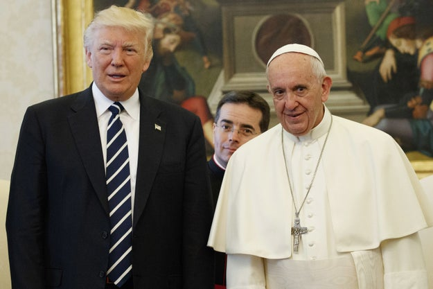 President Trump met Pope Francis at the Vatican on Wednesday...