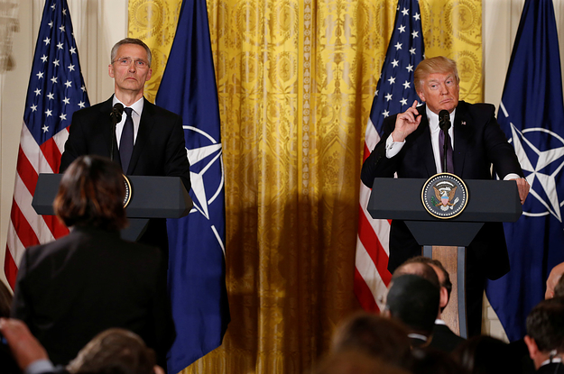 buzzfeed.com - Trump Is Meeting With NATO And Russia Is Missing From The Agenda