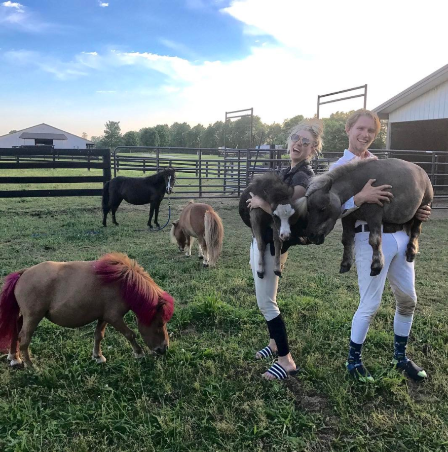 Kaley Cuoco Just Rescued A Special Needs Dwarf Mini Horse ...