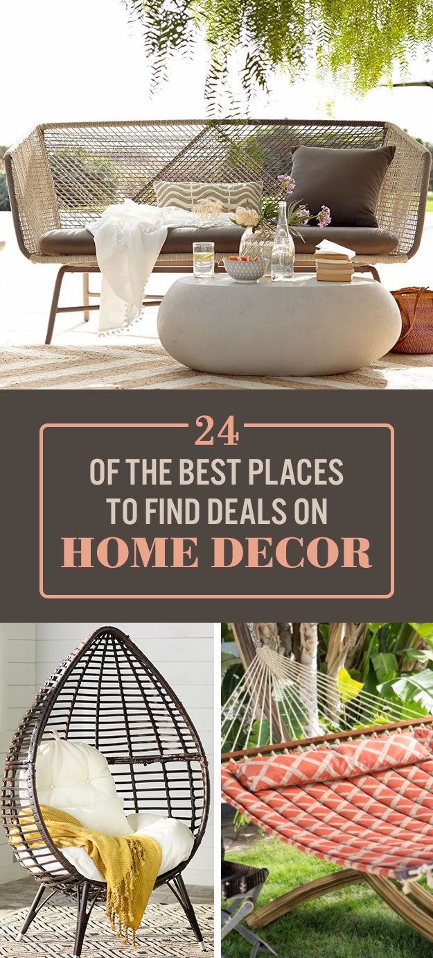 24 online stores with the best deals on home decor for Best deals on home decor