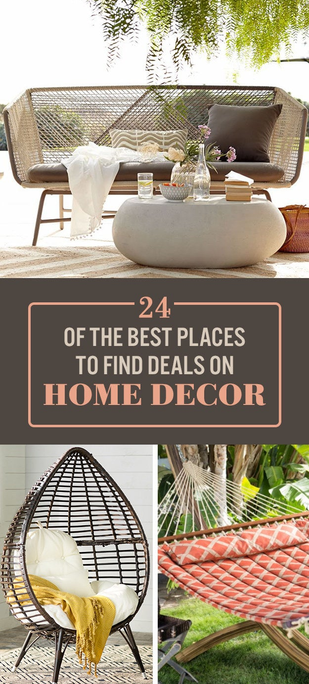 24 Online Stores With The Best Deals On Home Decor