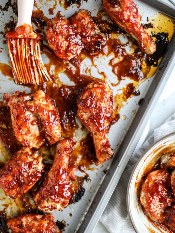15 best sticky chicken recipes of all time sticky apple cider bbq chicken recipe here forumfinder Images