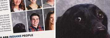 A School Included This Teen's Service Dog In The Yearbook And It's The Purest Thing